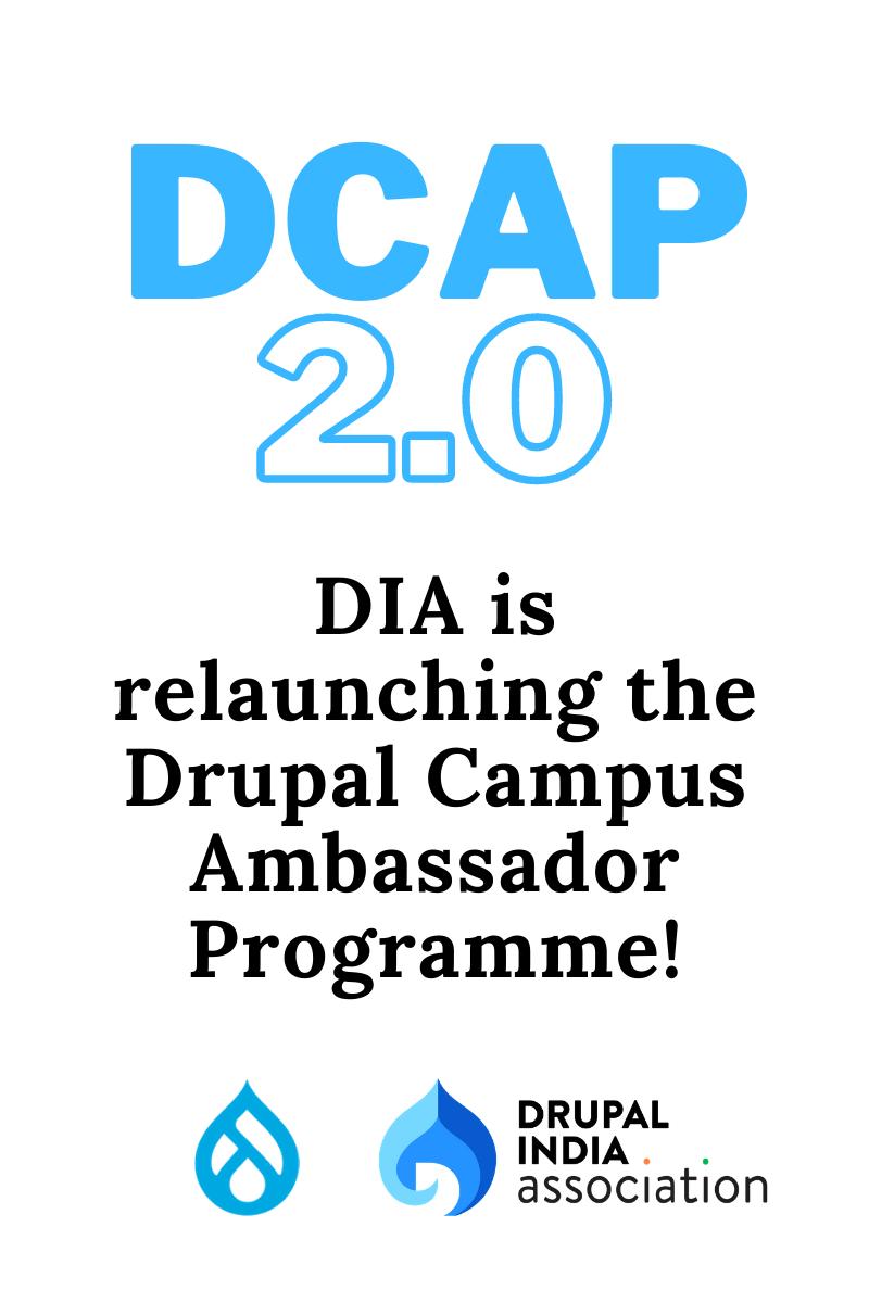 DCAP 2.0 - Relaunching DCAP!