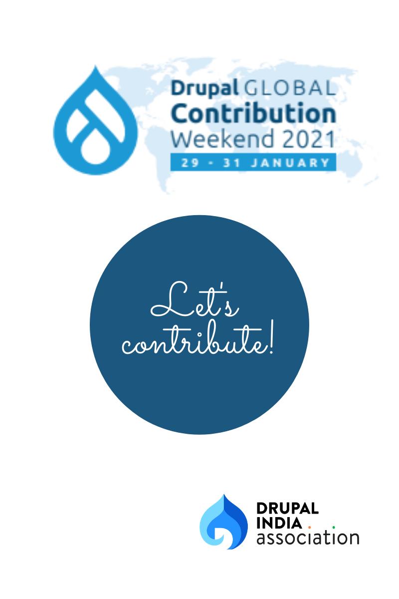 Drupal Global Contribution Weekend 2021